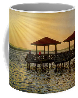 Fishing Pier Coffee Mug