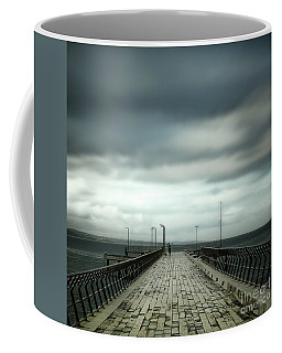 Fishing Pier Coffee Mug by Perry Webster
