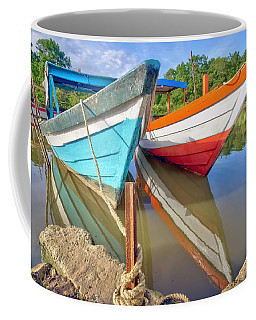 Fishing Pirogues  Coffee Mug