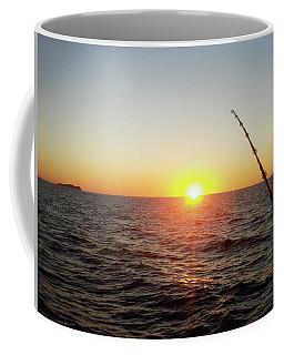 Fishing Pole Taken On 35mm Film Coffee Mug