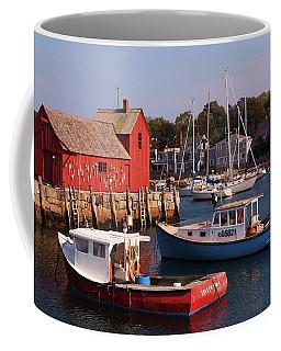 Fishing Shack Coffee Mug by John Scates