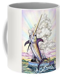 Fishing Swordfish Coffee Mug