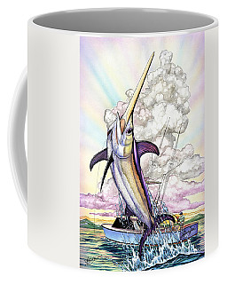 Fishing Swordfish Coffee Mug