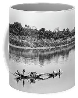 Fishing The Lower Ganges Coffee Mug