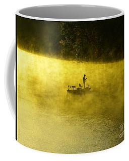 Fishing The Prettyboy Reservoir Coffee Mug