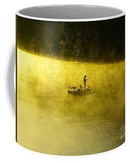 Fishing The Prettyboy Reservoir Coffee Mug