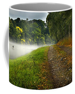 Fishing The River Beauly Coffee Mug
