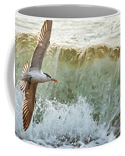 Fishing The Surf Coffee Mug