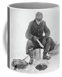 Fishing Through Ice Coffee Mug