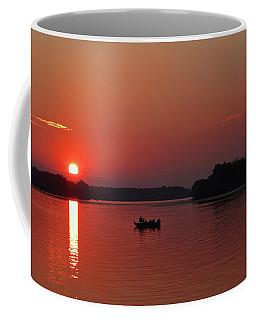 Fishing Until Sunset Coffee Mug
