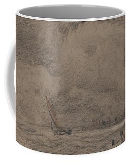 Fishing Vessel Off Yarmouth Coffee Mug