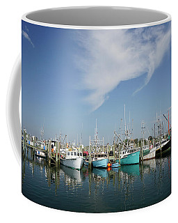 Fishing Vessels At Galilee Rhode Island Coffee Mug