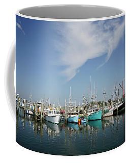 Fishing Vessels At Galilee Rhode Island Coffee Mug