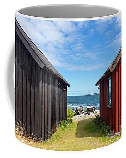 Fishing Village On Faro Island, Sweden Coffee Mug