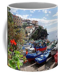 Fishing Village On The Island Of Madeira Coffee Mug