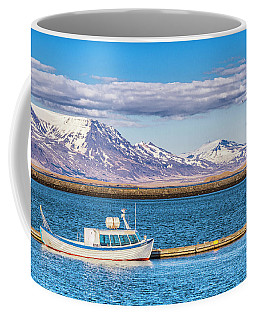 Fishing Coffee Mug by Wade Courtney
