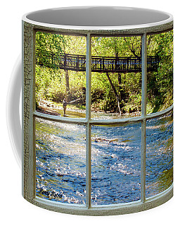 Fishing Window Coffee Mug