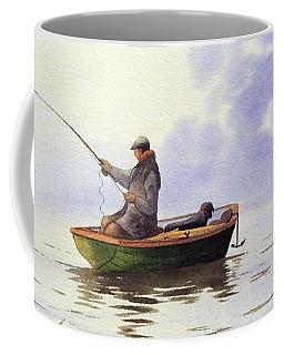 Fishing With A Loyal Friend Coffee Mug
