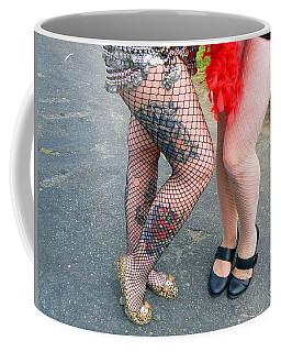 Fishnet And Tattoos Coffee Mug