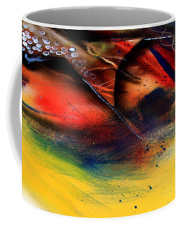 Fishtail Abstract Coffee Mug