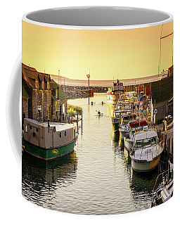 Coffee Mug featuring the photograph Fishtown by Alexey Stiop