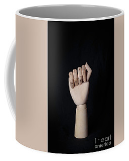 Fist Coffee Mug by Edward Fielding