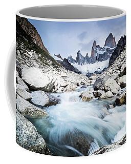 Fitz Roy On A Cloudy Day  Coffee Mug