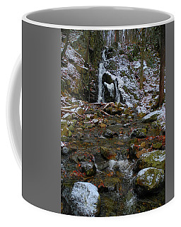 Fitzgerald Falls Is Along The Appalachian Trail 7 Coffee Mug by Raymond Salani III