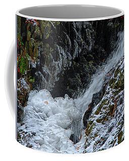 Fitzgerald Falls Is Along The Appalachian Trail Coffee Mug by Raymond Salani III