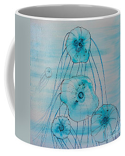 Coffee Mug featuring the painting Five Jelly Family by Kim Nelson