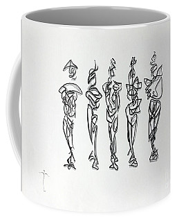 Five Muses Coffee Mug
