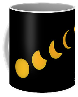 Five Phases Of The Eclipse Coffee Mug