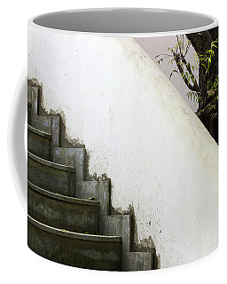 Coffee Mug featuring the photograph Five Steps To Glory by Prakash Ghai