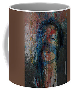 Coffee Mug featuring the painting Five Years by Paul Lovering