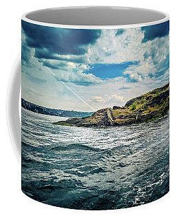 Fjord From The Ferry Coffee Mug