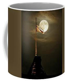 Flag And Moon -01 Coffee Mug