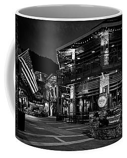 Flag And Moonshine In Black And White Coffee Mug