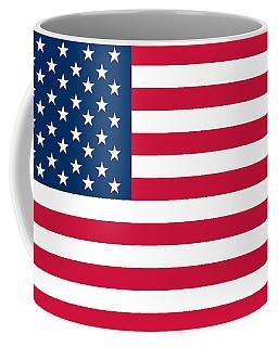 Flag Of The United States Of America Coffee Mug