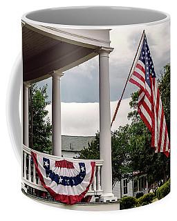 Flag On Ruckman Road Coffee Mug