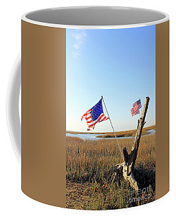 Flags Near Tybee Coffee Mug