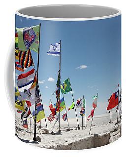 Flags Of The Dakar Rally Coffee Mug