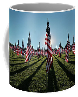 Flags Of Valor - 2016 Coffee Mug