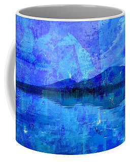 Flagstaff Lake Blu Coffee Mug