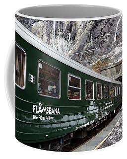 Flam Railway Coffee Mug by Suzanne Luft