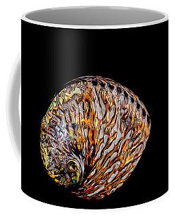 Flame Abalone Coffee Mug by Rikk Flohr