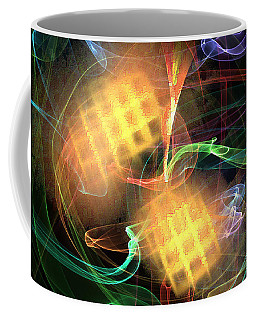Flame Art 2 Coffee Mug by Maciek Froncisz