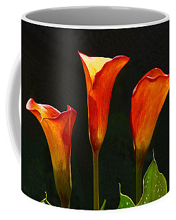 Flame Calla Lily Flower Coffee Mug