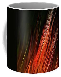 Flame Grass  Coffee Mug by Theresa Tahara