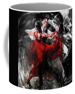 Flamenco Couple Dance  Coffee Mug