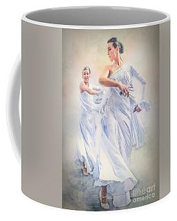 Flamenco In White Coffee Mug
